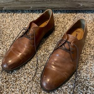 Men's Johnston & Murphy Dress Shoe - Brown, 12